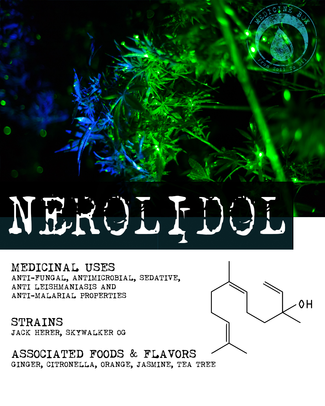 terpene tuesday from medicine box nerolidol