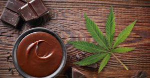 cannabis and chocolate