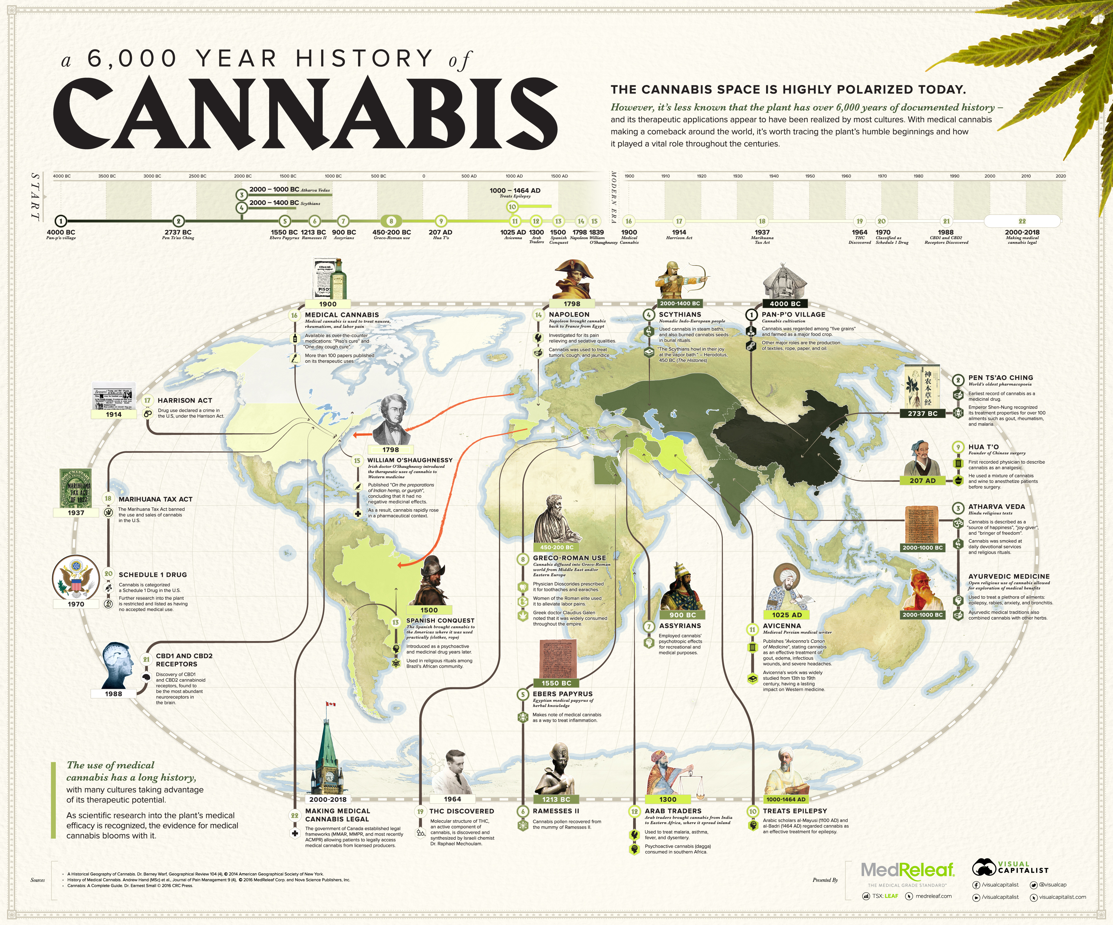 a 6000 year history of cannabis