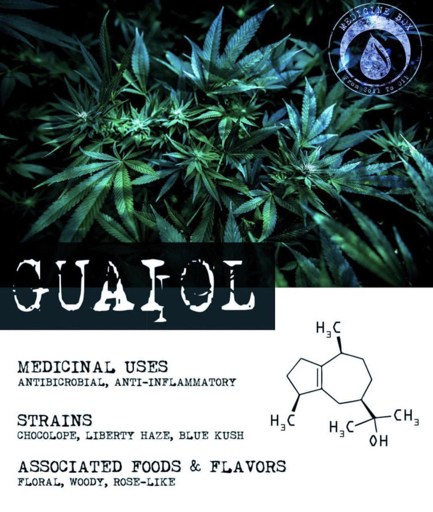 guaiol terpene tuesday medicine box
