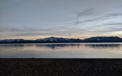 Nature as medicine: South Lake Tahoe sunset