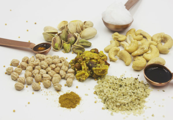 Ingredients for curry bar