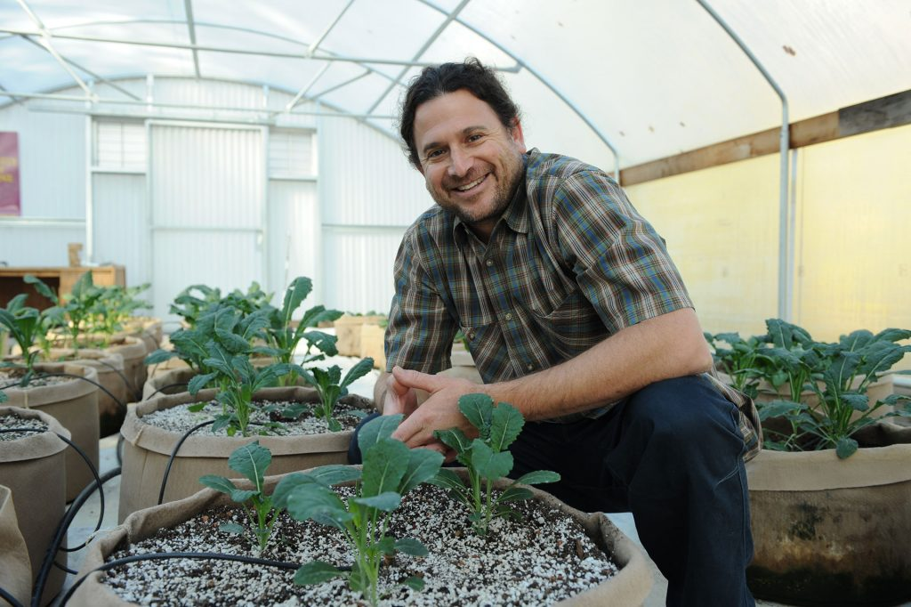Jonathan Valdman, CEO and founder of Forever Flowering Greenhouses