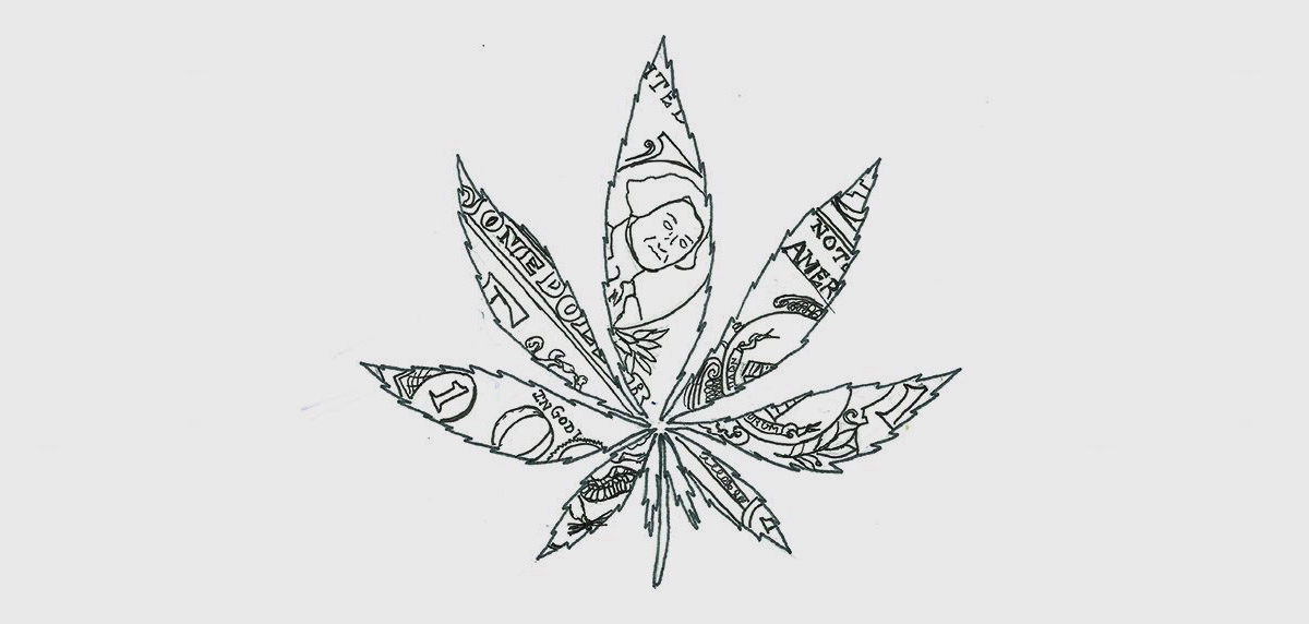 cannabis money leaf, cannabis industry